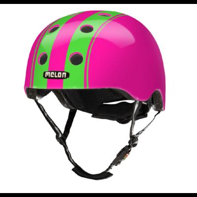 Melon Kinderhelm Dubble Green Pink XXS-S