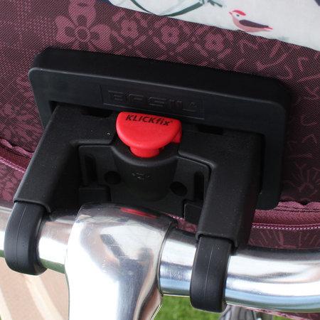 Basil Stuurtas Bohème City bag Fig Red 8L