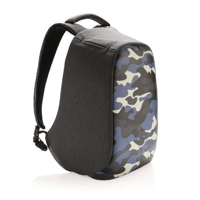 XD Design Rugzak Bobby Compact 11L Camouflage Blauw