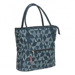 New Looxs Enkele Fietstas / Shopper Cameo 18L Triangle Blue