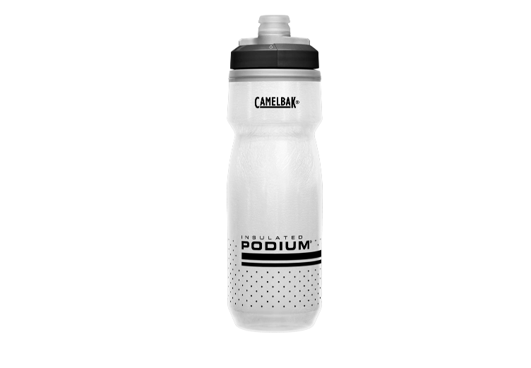 Bidon Podium Chill 600ml Zwart/Wit