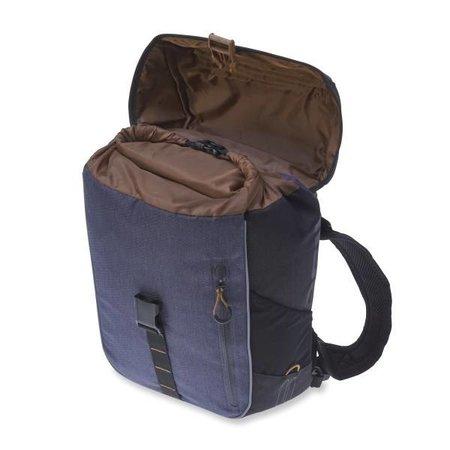 Basil Pakaftas Miles Daypack 14L Zwart/ Grijs