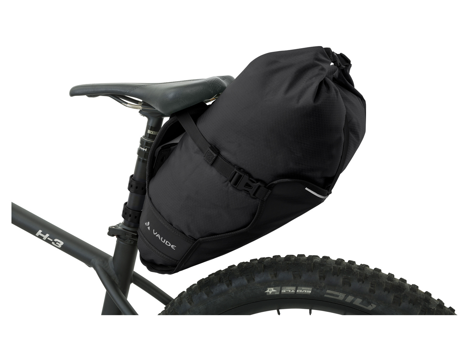 Zadeltas Trailsaddle 12L Black Uni
