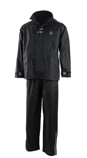 Regenpak Zwart - Maat XL