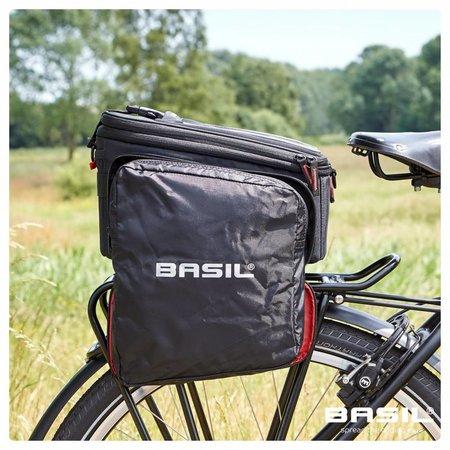 Basil Bagagedragertas Sport Design Trunkbag 7-15L Zwart