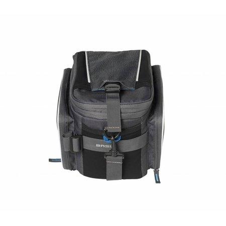 Basil Bagagedragertas Sport Design Trunkbag 7-15L Grijs