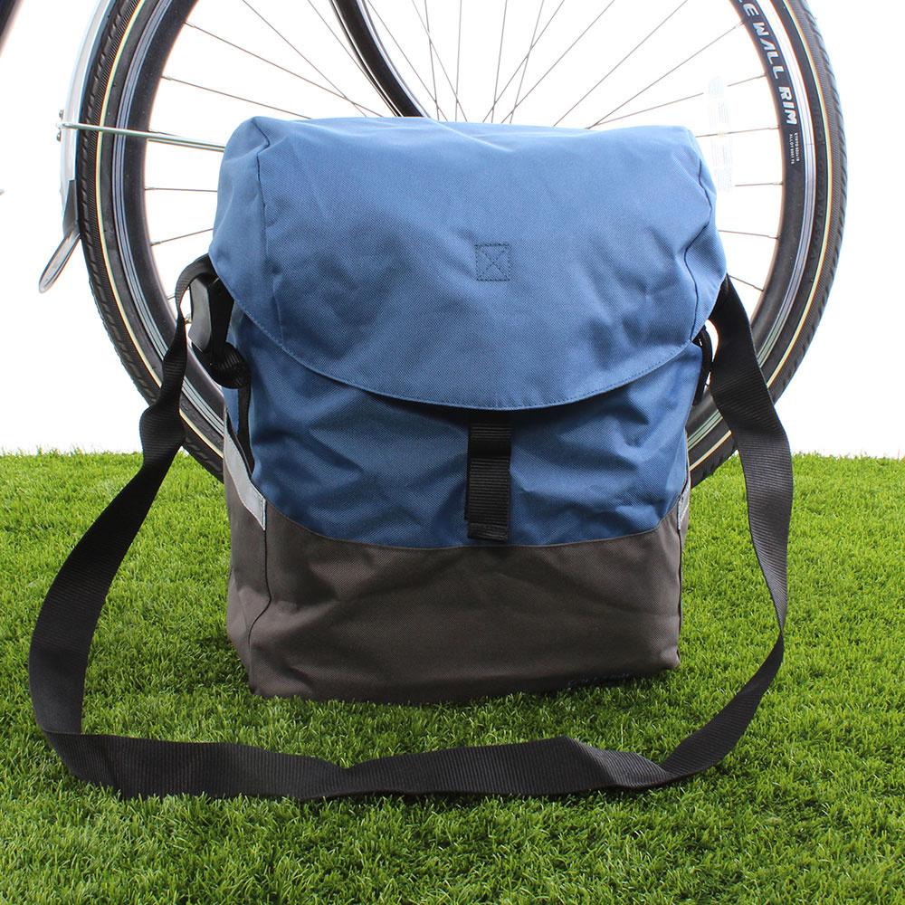 Enkele fietstas Mare 17,5L Berry Blue/Stone Grey