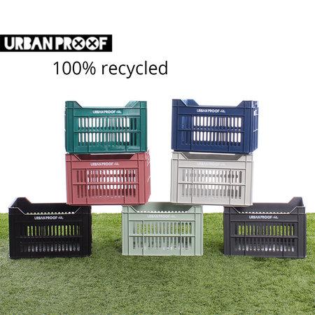 Urban Proof Fietskrat 30L Light Grey - Recycled