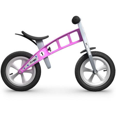 FirstBIKE Loopfiets Street Pink - zonder rem