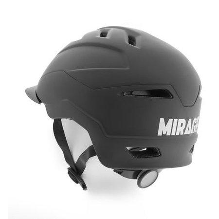 Mirage Fietshelm Hi-Speed Mat Zwart L/XL