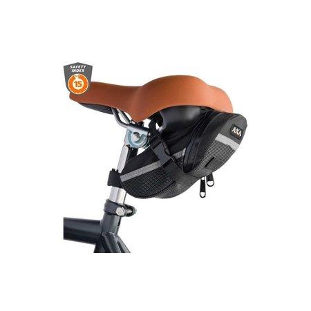AXA Insteekketting RLC 100cm Zwart met zadeltas