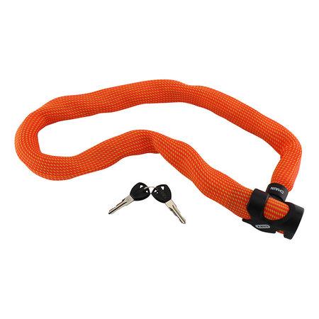 ABUS Kettingslot Ivera Chain 7210 Color 110 cm Oranje