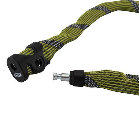 ABUS Kettingslot Ivera Chain 7210 Color 85cm Geel