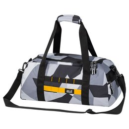 Jack Wolfskin Kindersporttas TRT School Bag 25L Grey Geo Block