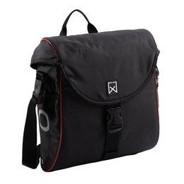 Willex Enkele fietstas/ Pakaftas 300 S 12L Zwart/rood
