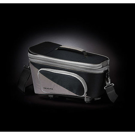 Racktime Bagagedragertas Talis Plus zwart/grijs - 8L + 7L