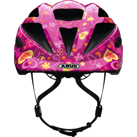 ABUS Kinderhelm Hubble 1.1 Purple Flower S