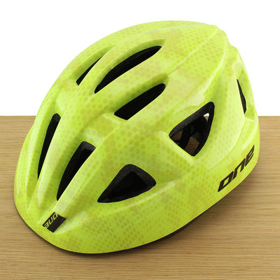 ONE Bikeparts Kinderhelm Racer Green S/M
