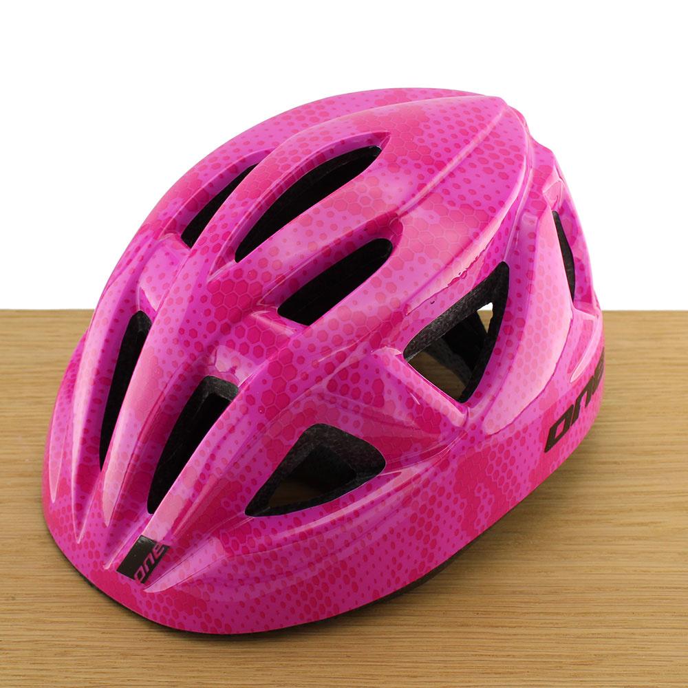 Kinderhelm Racer Pink S/M