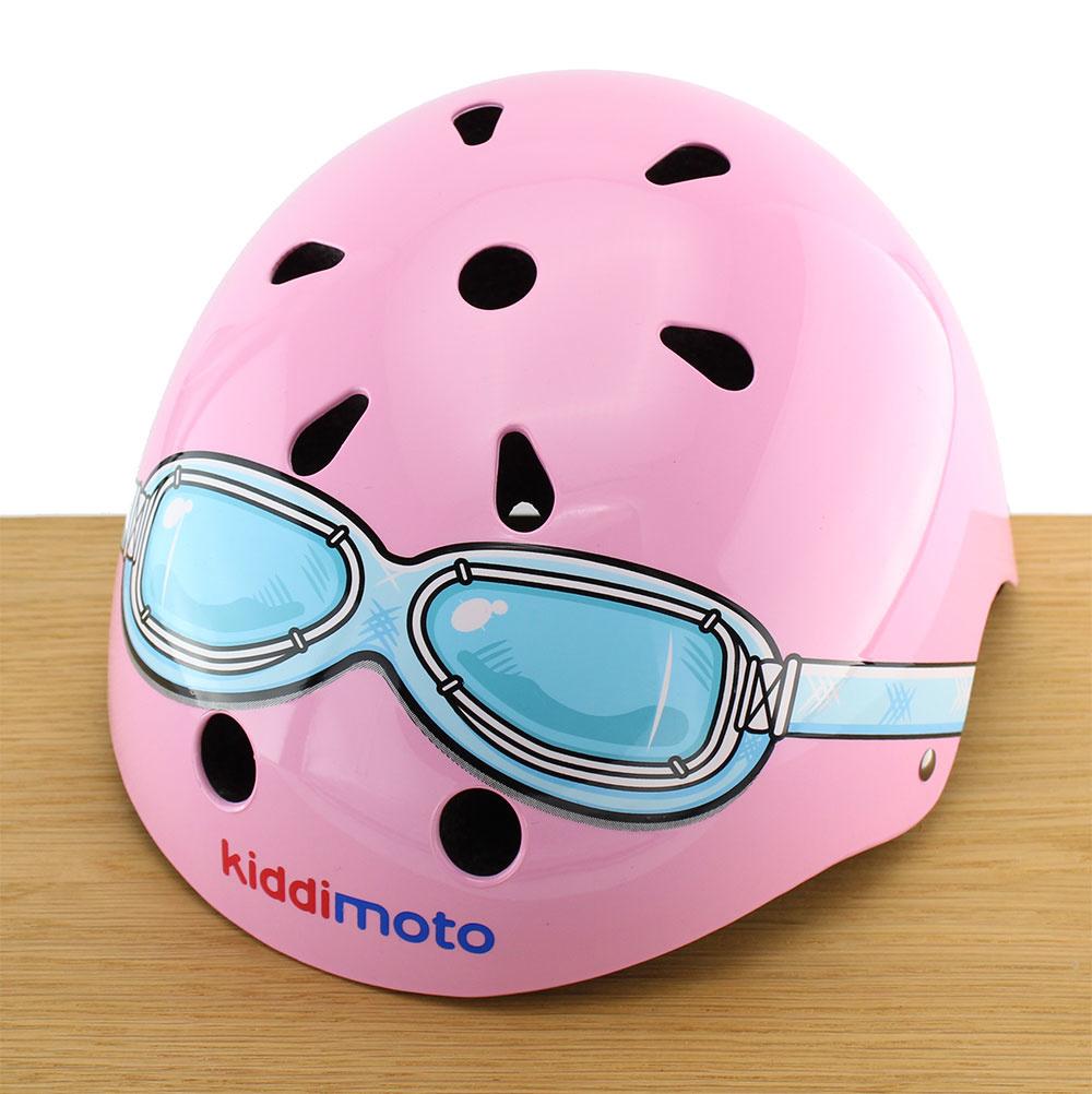 Kinderhelm Pink Goggle Medium