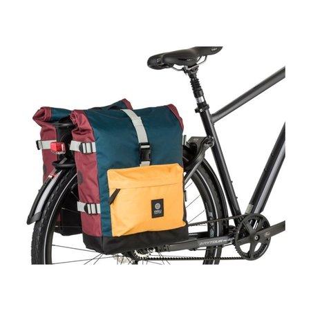 AGU Dubbele fietstas Urban Trend H2O 28L Color Block - waterdicht