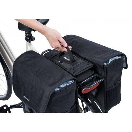 Basil DBS Detachable Bag System - Zwart