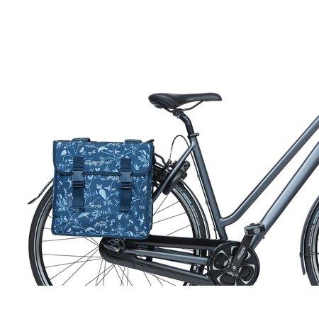 Basil Dubbele fietstas Wanderlust Indigo Blue