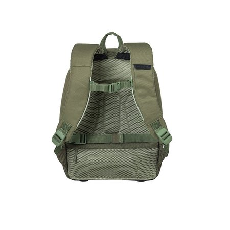 Basil Fietsrugzak B-Safe Nordlicht Backpack 13L Groen