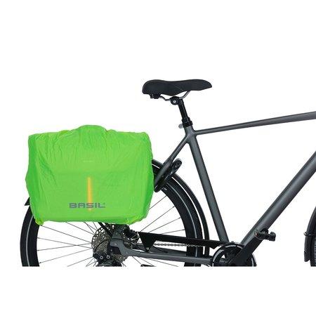 Basil B-Safe Commuter laptoptas Nordlicht 17L groen