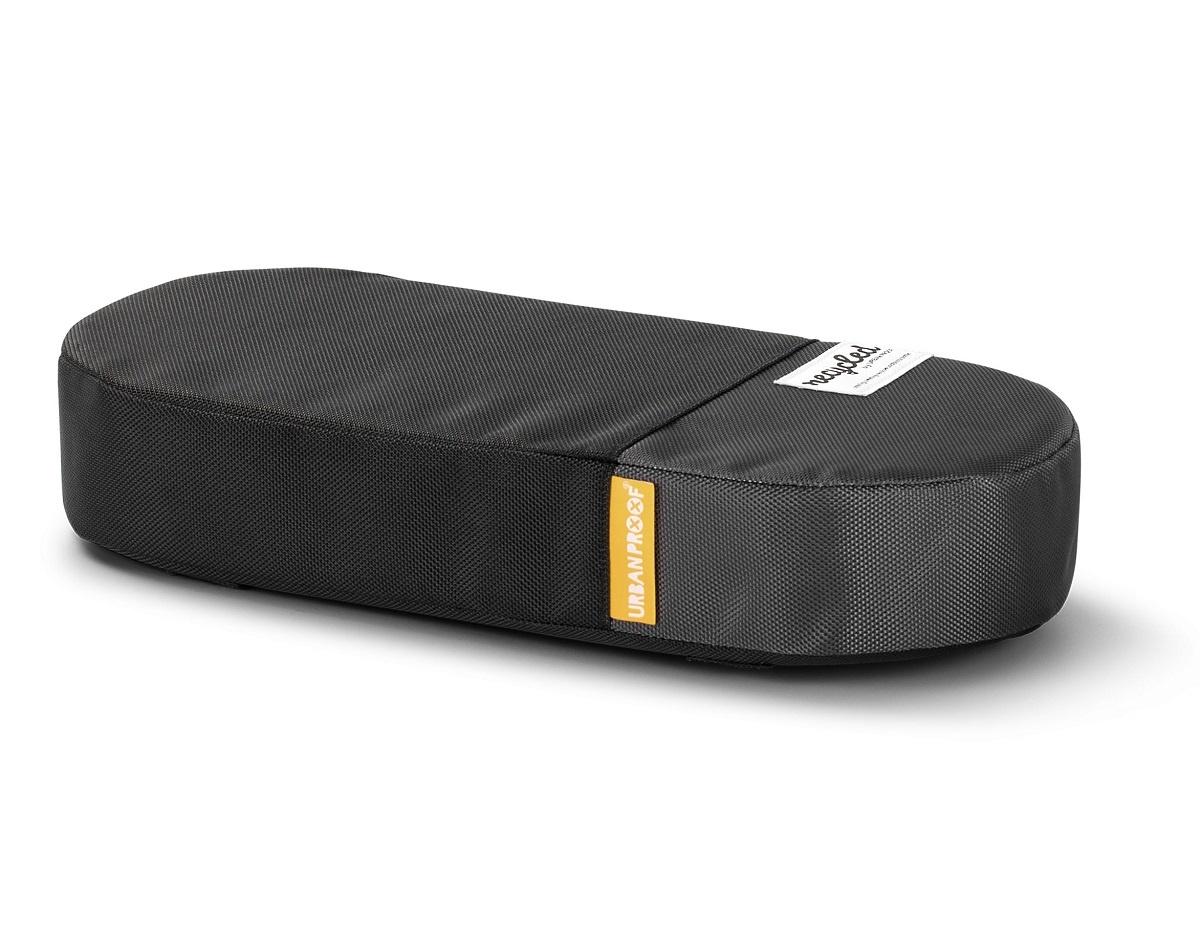 Fietskussen bagagedrager Recycled - Zwart/Grijs
