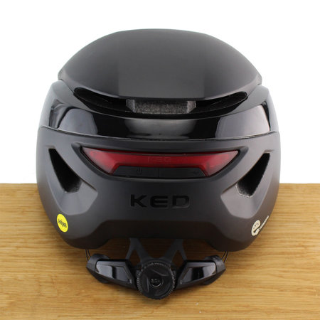 KED Fietshelm Mitro UE-1 Black - M - Met vizier