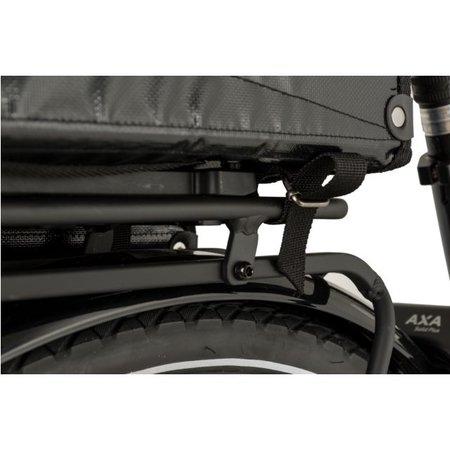 Fastrider Dubbele fietstas Cargo Tarpaulin 46L Zwart