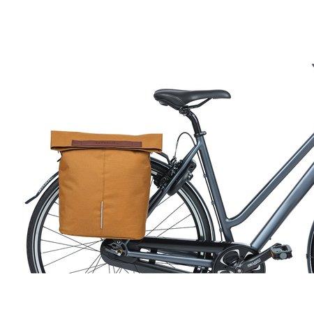 Basil Enkele fietstas City Shopper Camel Brown 16L