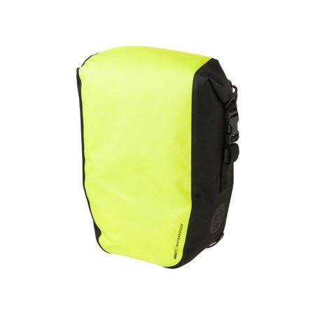 AGU Enkele fietstas Shelter Clean Medium 17L Neon Geel - Waterdicht