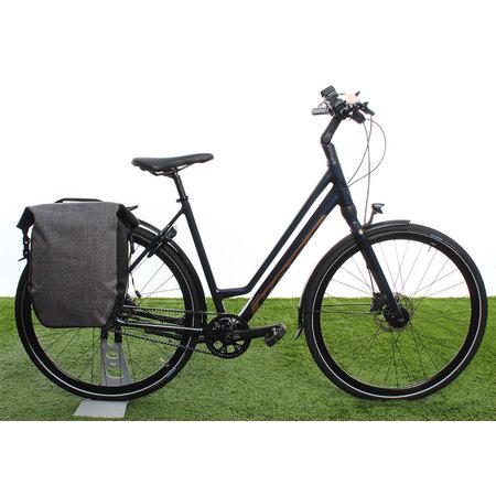 AGU Enkele fietstas Shelter Clean Large 21L Grijs - Waterdicht