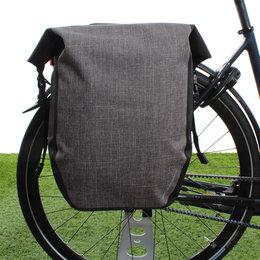 AGU Enkele fietstas Shelter Clean Large 21L Grijs