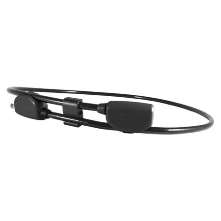 Hiplok POP Draagbaar Kabelslot Zwart - 130 cm