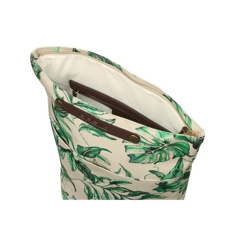 Basil Fietsrugzak  Ever-Green 19L Sandshell Beige