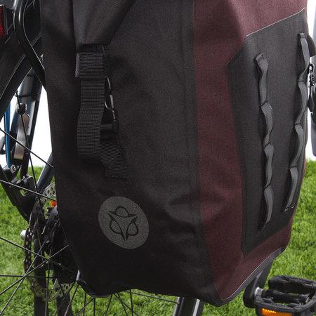 AGU Enkele fietstas Shelter Tech Large 21L Rood - Waterdicht