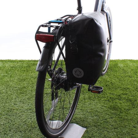 AGU Enkele fietstas Shelter Clean Medium 17L Zwart - Waterdicht