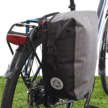 AGU Enkele fietstas Shelter Clean Medium 17L Grijs - Waterdicht