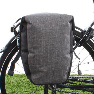 AGU Enkele fietstas Shelter Clean Medium 17L Grijs