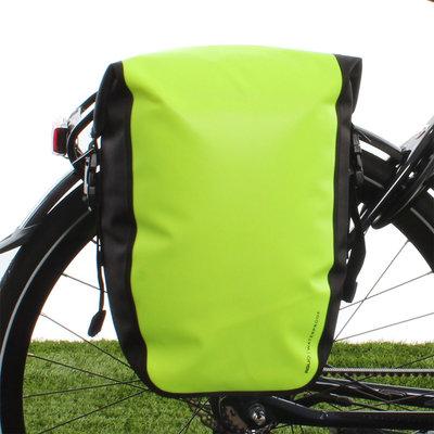 AGU Enkele fietstas Shelter Clean Medium 17L Neon Geel