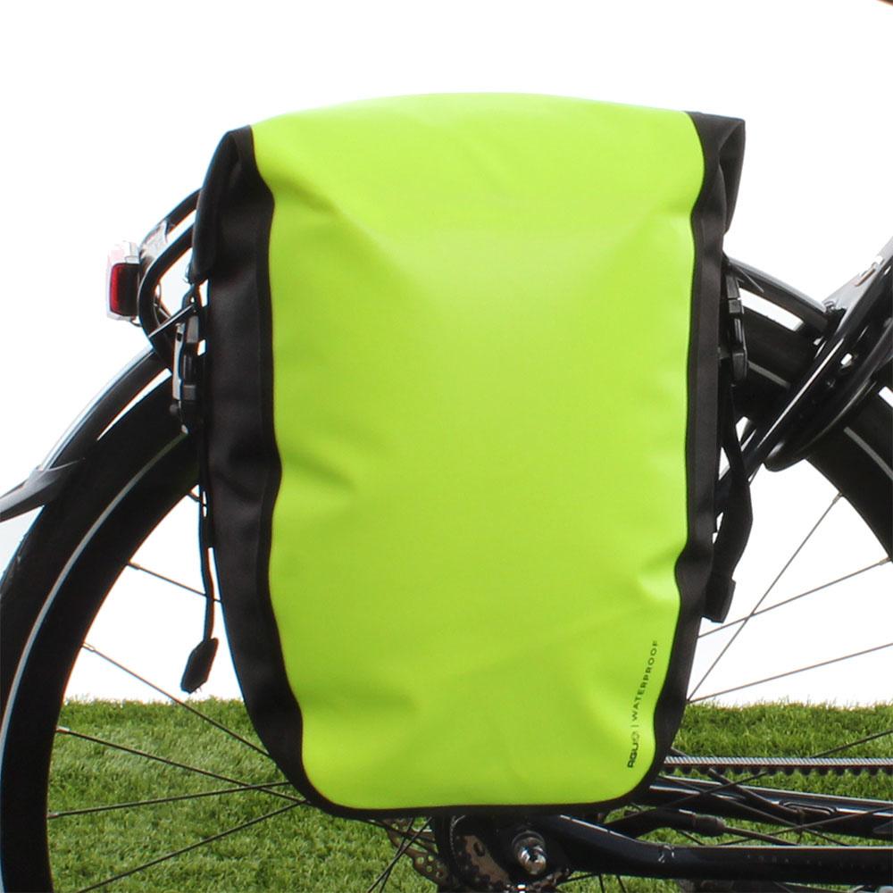 Enkele fietstas Shelter Clean Medium 17L Neon Geel