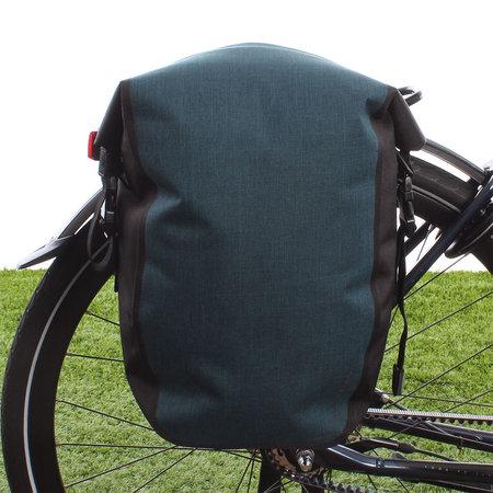 AGU Enkele fietstas Shelter Clean Medium 17L Blauw - Waterdicht