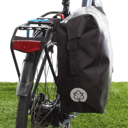 AGU Enkele fietstas Shelter Clean Medium 17L Reflectie Mist - Waterdicht