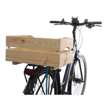 Racktime Fietskrat Woodpacker  Naturel