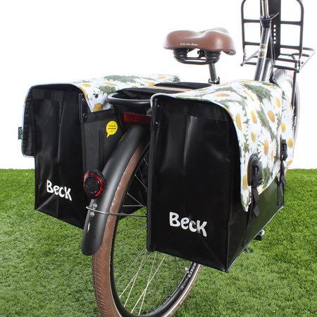 Beck Dubbele fietstas 65L Big Daisy's
