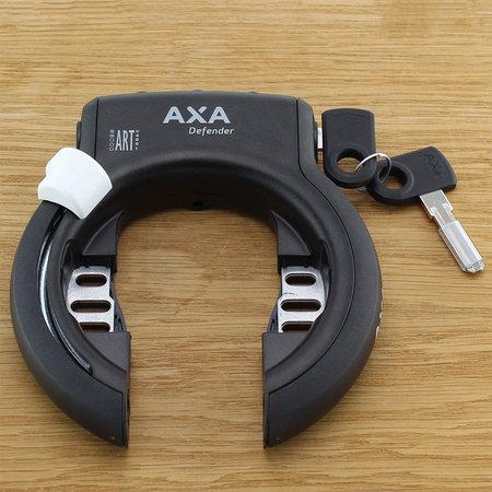 AXA Ringslot Defender  + RLC Plus insteekketting 100cm Zwart - Limited Edition