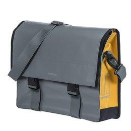 Basil Urban Load Messenger Bag 15-17L Grijs/Geel